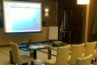 Conference service in Prominada Hotel