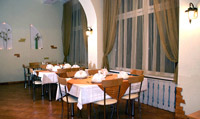 Restaurant in Yunost Hotel